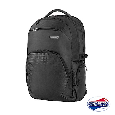 AT美國旅行者 Logix 豐富內裝收納型筆電後背包(黑)