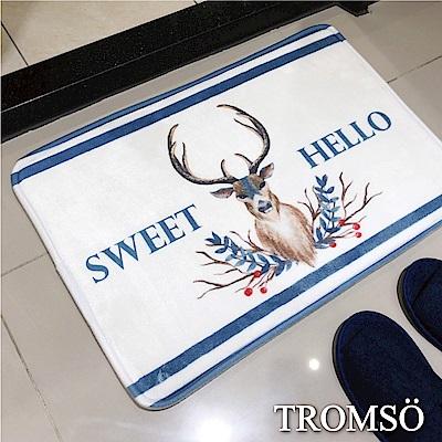 TROMSO簡單生活超柔軟舒適地墊-M60北歐麋鹿