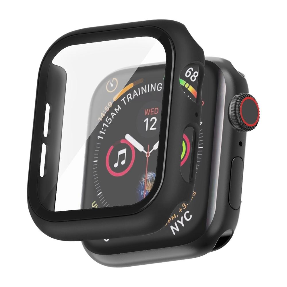 IN7 Apple Watch手錶防摔電鍍保護殼 PC+鋼化膜 保護套44mm