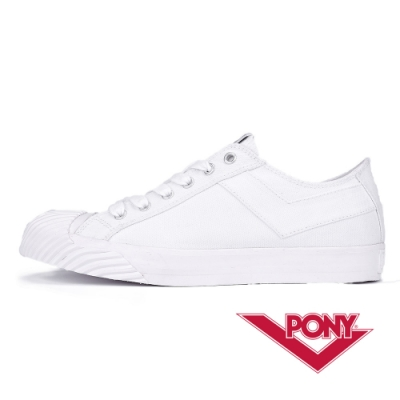 【PONY】Shooter系列 經典潮流高顏值百搭餅乾鞋 女款 牛奶白