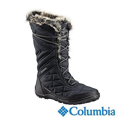 Columbia哥倫比亞 女款-Omni-Tech 防水鋁點保暖雪靴-黑色