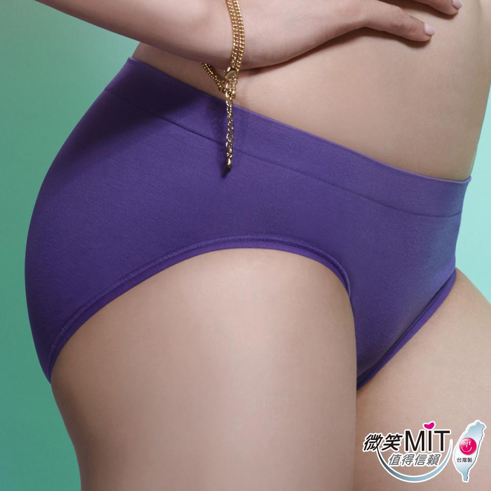 推EASY SHOP-iMEWE 高腰三角褲(貴族紫)