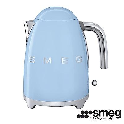 義大利SMEG  電熱水壺 -粉藍色 KLF01PBTW