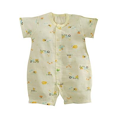 嬰兒純棉紗布短袖兔裝 b0183 魔法Baby