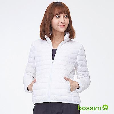 bossini女裝-高效熱能輕便羽絨外套01白