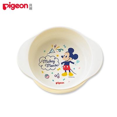 【任選】日本《Pigeon 貝親》迪士尼寬口碗(米奇)