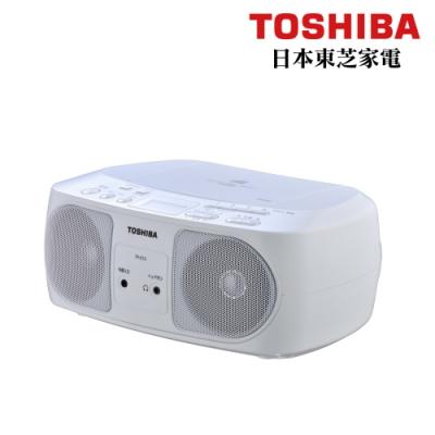 【TOSHIBA】CD/MP3/FM收音機/USB 手提音響 TY-CRU12TW