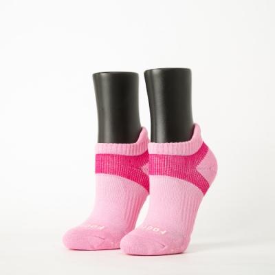 Footer除臭襪-輕壓力足弓船短襪-六雙入(灰*2+粉紅*2+藍*2)