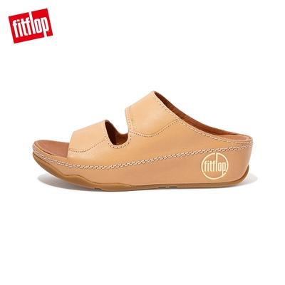 FitFlop SHUV SLIDES 簡約造型雙帶涼鞋-女(裸膚色)
