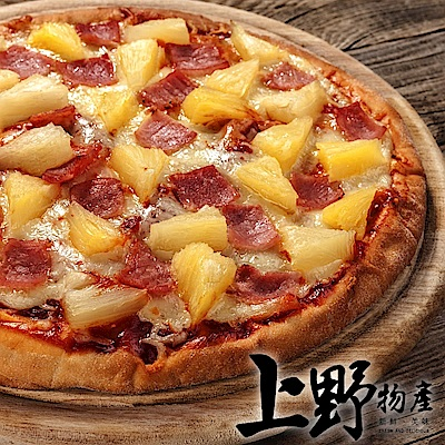 【上野物產】歐胡島特產新鮮鳳梨pizza(120g土10%/片) x30片
