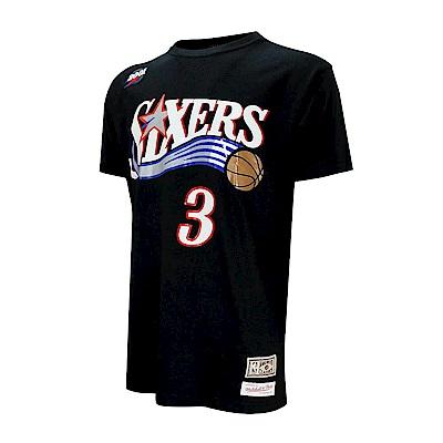 M&N NBA 球員號碼純棉T恤 76人 Allen Iverson
