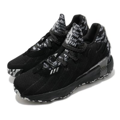adidas 籃球鞋 Dame 7 GCA 運動 男鞋 愛迪達 里拉德 LIGHTSTRIKE 黑 白 FY2794