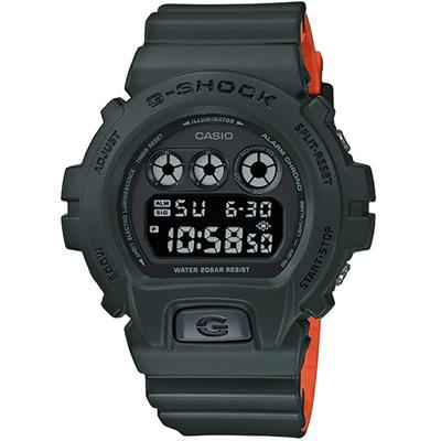 G-SHOCK經典6900系列霧面運動腕錶 (DW-6900LU-3)