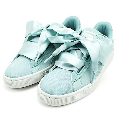 PUMA-女休閒鞋3652100-湖水綠