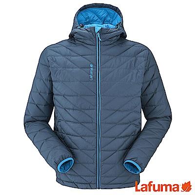Lafuma 男TRACK防風羽絨保暖連帽外套 深藍 LFV111656730