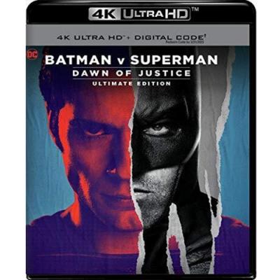 蝙蝠俠對超人  正義曙光 終極版 4K UHD 單碟版
