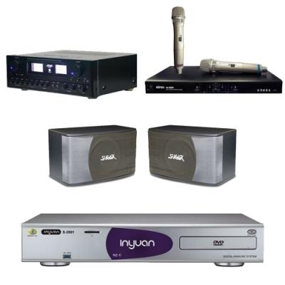 音圓N2C+SUGAR SAK-5888+SK-8610+MI-889(伴唱機4TB+卡拉OK套組)