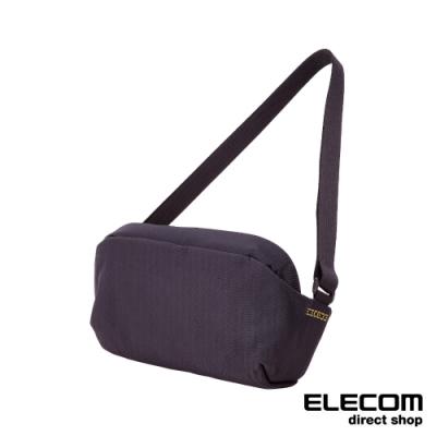 ELECOM ESCODE 防盜側背包-黑
