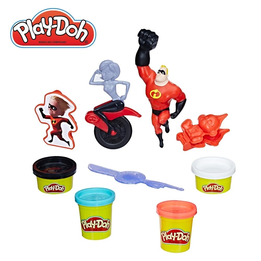Play-Doh 培樂多-超人特攻隊遊戲組 無毒黏土 創意DIY
