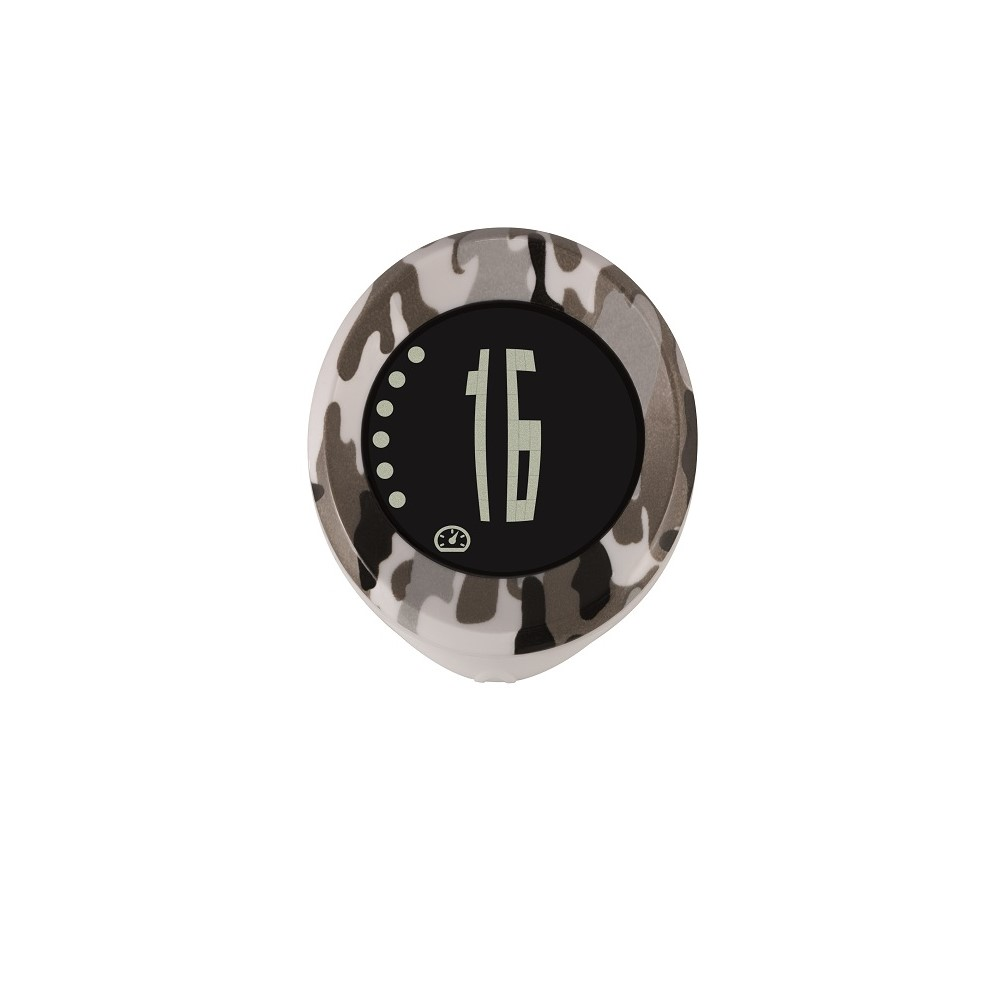 【SIGMA】MY SPEEDY 四項功能無線碼錶 迷彩黑/白