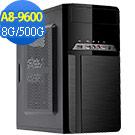技嘉B450平台[明月鬥士]A8四核效能電腦