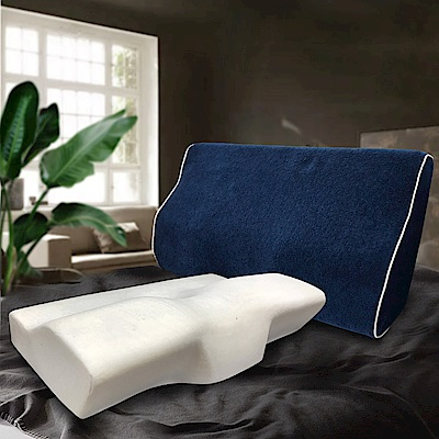 Hilton 希爾頓 愛琴海系列-蝶型記憶紓壓防鼾枕 1入