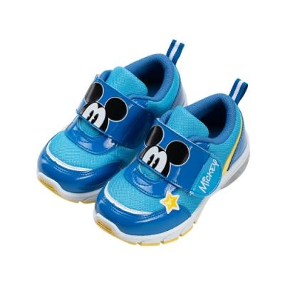 迪士尼童鞋  米奇  童段電燈運動鞋-藍