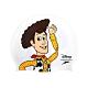 SPEEDO 成人矽膠泳帽-胡迪-玩具總動員 迪士尼 游泳 戲水 SD808385F307 白黃 product thumbnail 1