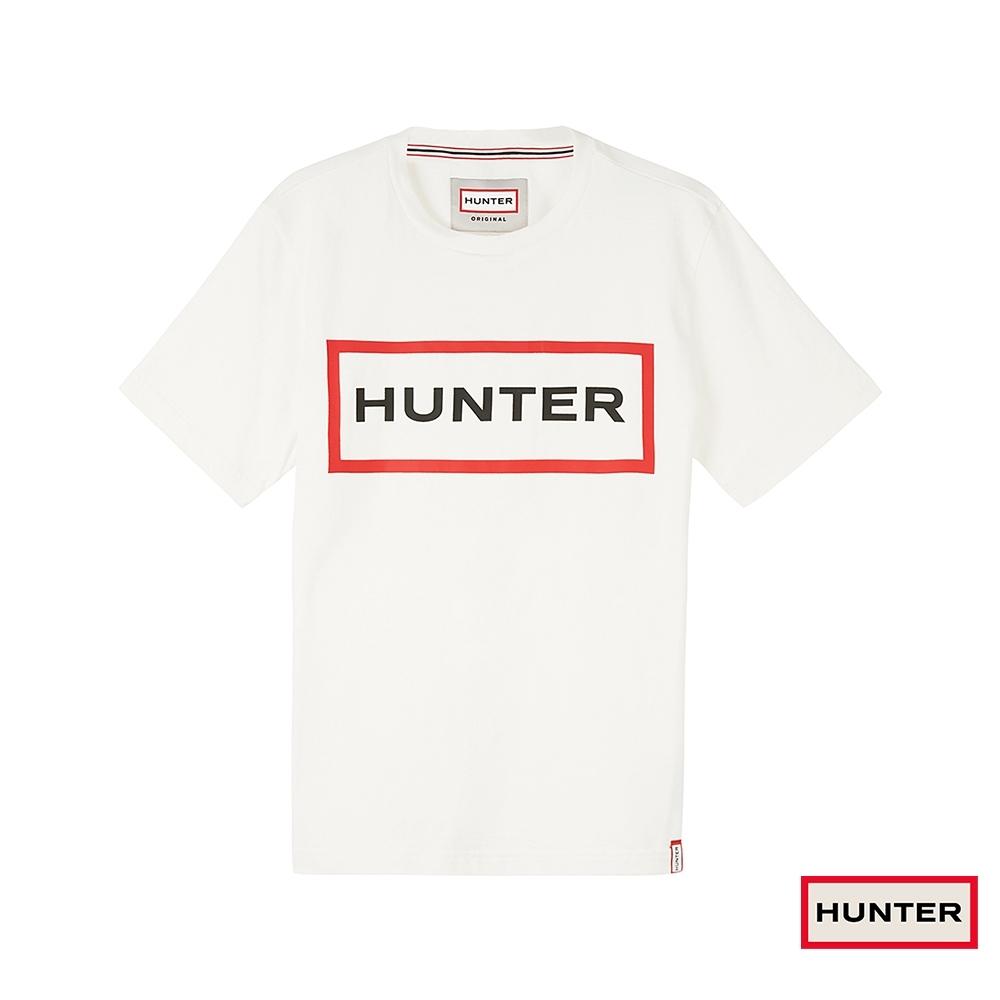 HUNTER - 男裝 - 經典LOGO 短袖上衣 - 白