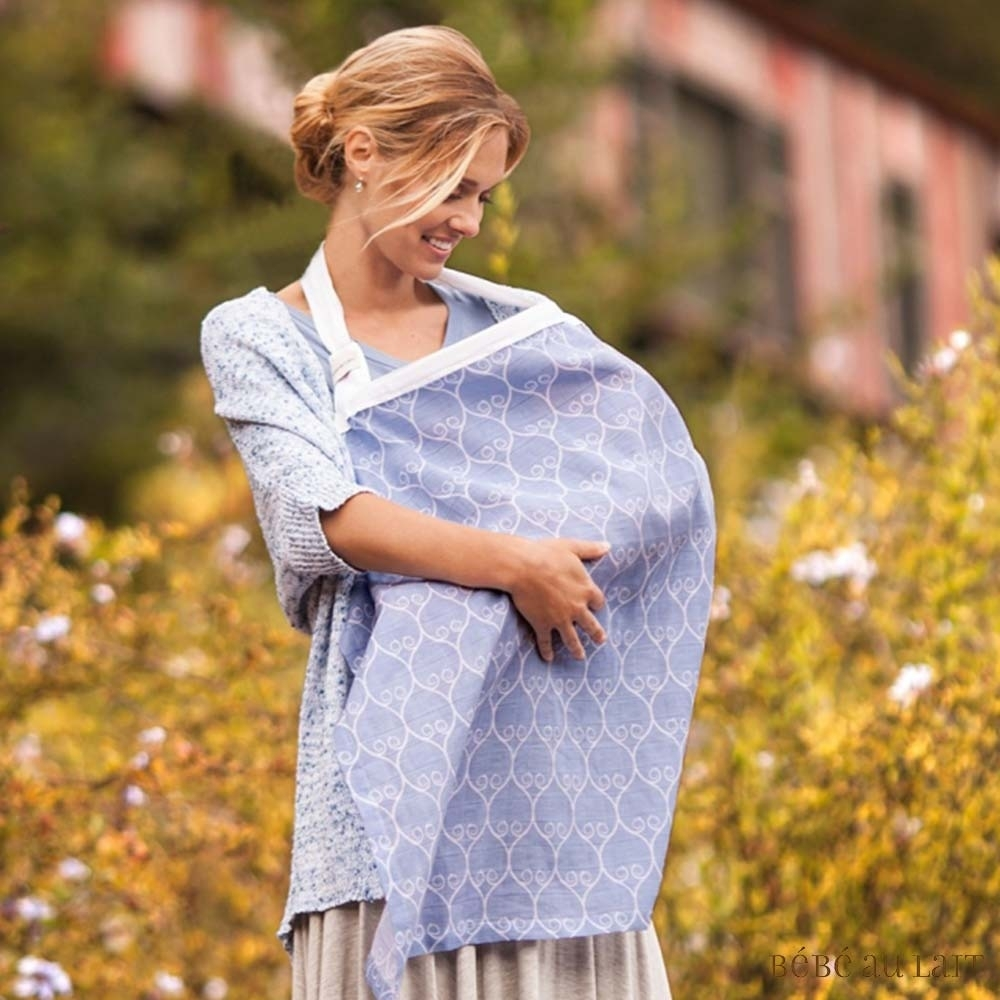 美國Bebe Au Lait 時尚哺乳巾 (Porta 棉紗款)