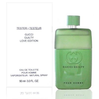 Gucci Guilty Love Edition 罪愛蜜戀男性淡香水 90ml Tester 包裝