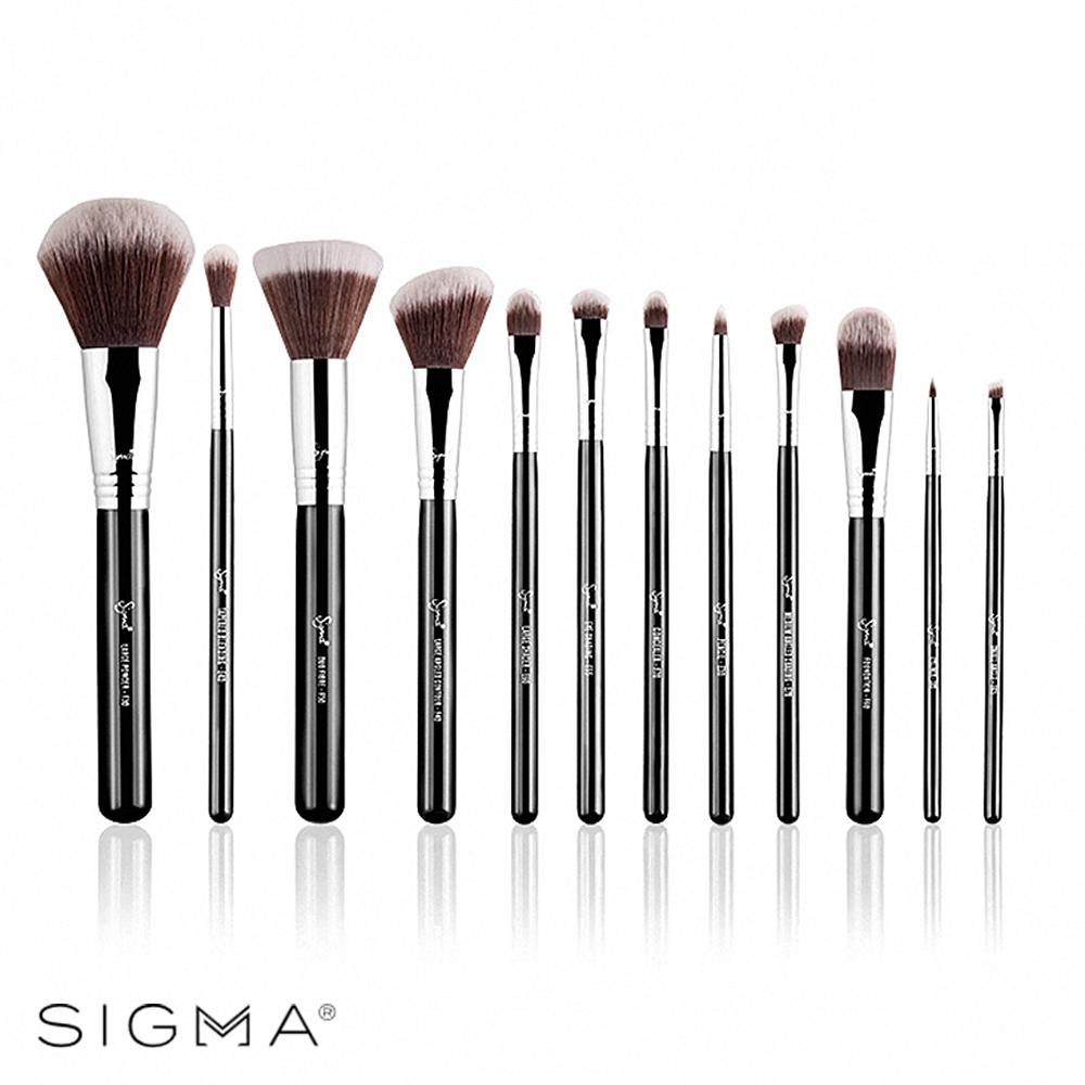 Sigma 刷具12件組(含刷具筒)-Mr. Bunny Essential Kit
