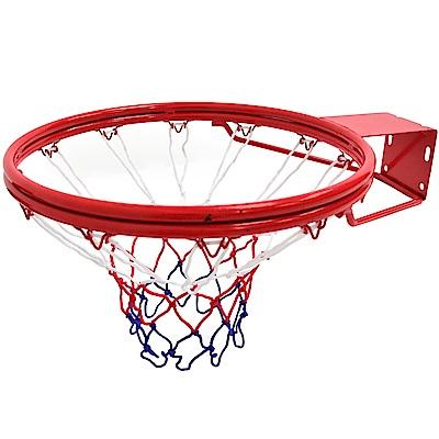 雙層金屬18吋標準籃球框架(含籃球網)