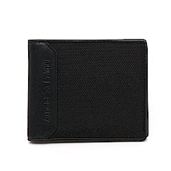 Arnold Palmer- 基本短夾附零錢袋 CYBROG系列 -黑色
