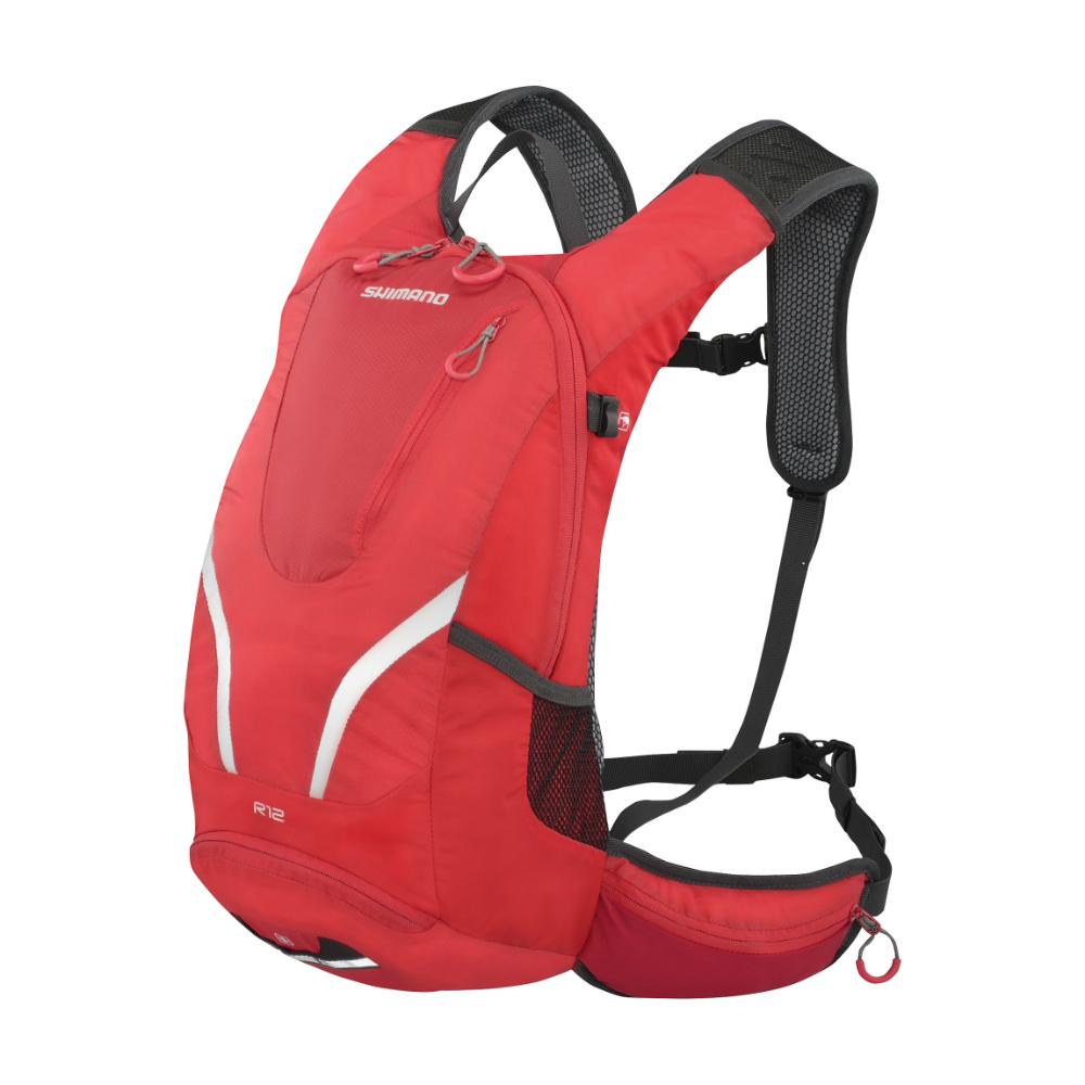 【SHIMANO】ROKKO 12L 多功能水袋背包 火焰紅