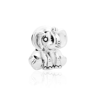 Pandora 潘朵拉 可愛小象Ellie 純銀墜飾 串珠