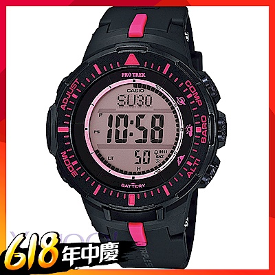 CASIO PROTREK太陽能三大感應登山錶 PRG-300(多色選 原價6900)