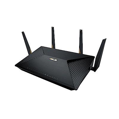 [無卡分期12期]ASUS AC2600 雙LAN雙頻商用無線路由器(BRT-AC828)