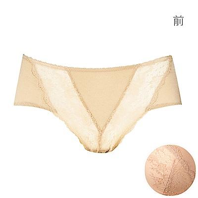 黛安芬-魔術輕盈V曲線記憶枕系列平口內褲 M-EL(典雅裸色)