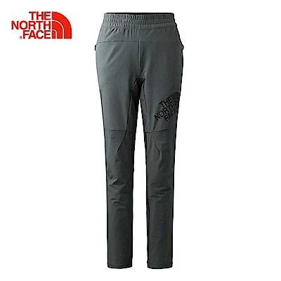 The North Face北面女款深灰色透氣防潑水休閒長褲  3GJM0C5