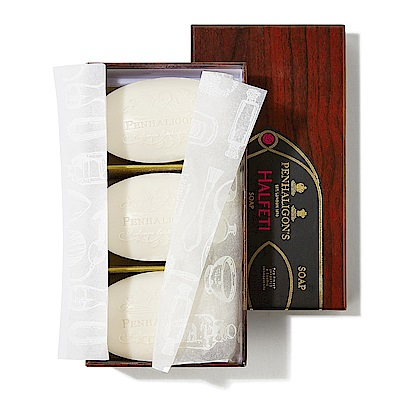 PENHALIGON'S HALFETI 黑玫瑰香氛皂 3x100g