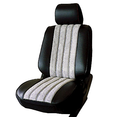 【葵花】量身訂做-汽車椅套-日式合成皮-賽車條紋A款-休旅車9人座款1+2排