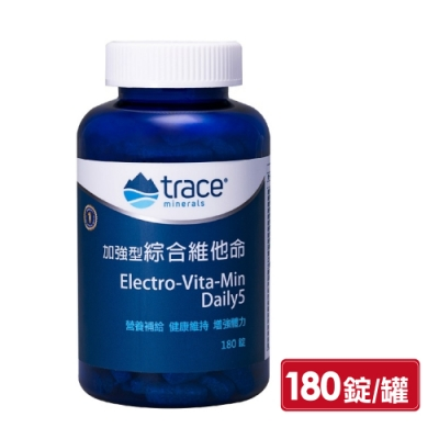 Trace Minerals 萃思鎂 加強型綜合維他命 180錠 (美國原裝進口)