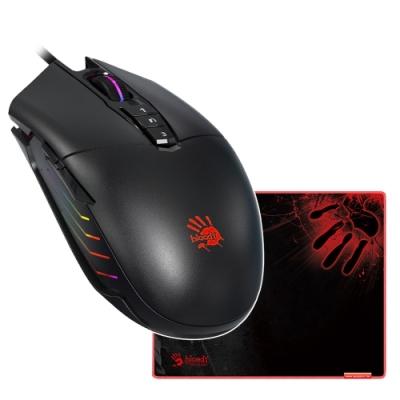 加贈電競滑鼠墊 A4 Bloody P91 Pro 電競手RGB彩漫燈光電競滑鼠