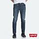 Levis 男款 上寬下窄 502 Taper牛仔褲 深藍刷白 彈性布料 product thumbnail 2