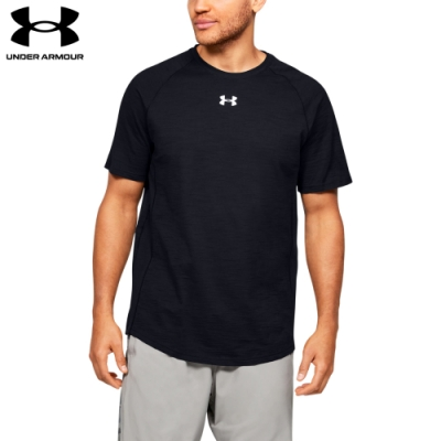 【UNDER ARMOUR】男 Charged Cotton短T-Shirt