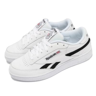 Reebok 網球鞋 Club C Revenge MU 男鞋 海外限定 皮革 簡約 舒適 穿搭 白 黑 EG9270