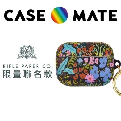 美國 CASE●MATE AirPods Pro 保護套 (贈扣夾) - Rifle Paper Co.聯名款 - 植物園