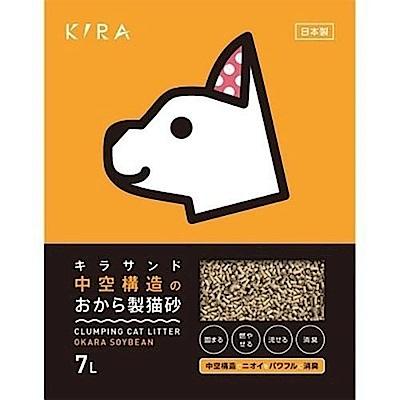 日本KIRA大和 豆腐貓砂 7L 三包組