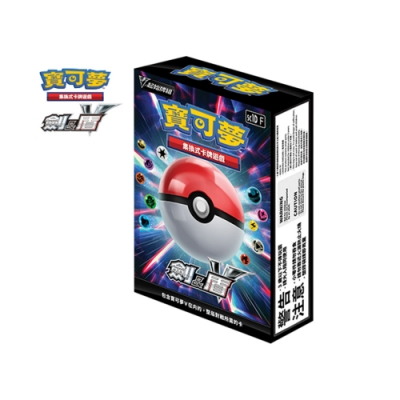 Pokemon 寶可夢集換式卡牌遊戲 劍&盾 V起始牌組(5盒入) 送寶可夢證件套